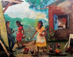 Harvest - Oil on Canvas - Anita Malfatti.