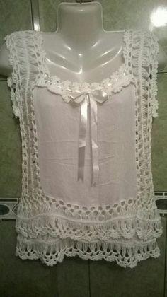 Resultado de imagen para blusas a crochet