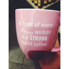 Saw this mug at the mall tonight and I NEED IT.. as I sit here drinking coffee at 6pm because #addicted. I'm only as strong as my strongest cup of coffee. #truth ☕️☕️☕️☕️ #coffee #strength #quotes #Padgram