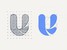 U by ADIYou can find Logo icons and more on our website.U by ADI Typo Logo Design, Typography Logo, Art Logo, Logo Branding, Branding Design, Logo Design Trends, Graph Design, Icon Design, Logo Evolution