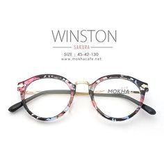 WINSTON eyeglasses 490 THB www.mokhacafe.net LINE id @mokha #แว่น #ขาย #แว่นตา #thaiglasses #glasses #sunglasses #eyewear #fashion #vintage #love #cool #summer #shopping #top #frames #lens #style #sun #girl #eyes