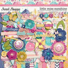Little Miss Sunshine by Megan Turnidge & Tickled Pink Studio