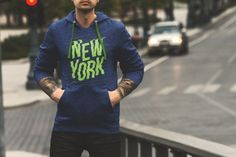 Free PSD mockup are perfect if you are making a catalog or building a website to display hoodie fleece designs, you can also use it in your branding projects Colorful Hoodies, Cool Hoodies, White Hoodie, Logo Branding, Branding Design, Shirt Designs, Menswear, Sweater, Website