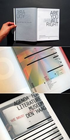 Great use of translucent paper and typography by HYO. Graphic Design Magazine, Magazine Design, Magazine Fonts, Web Design, Print Design, Design Editorial, Editorial Layout, Design Graphique, Art Graphique
