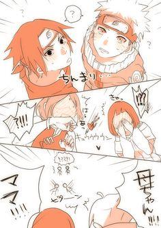 【NARUTO】サクラとヒナタのどっちも旦那大好きすぎるの可愛い。
