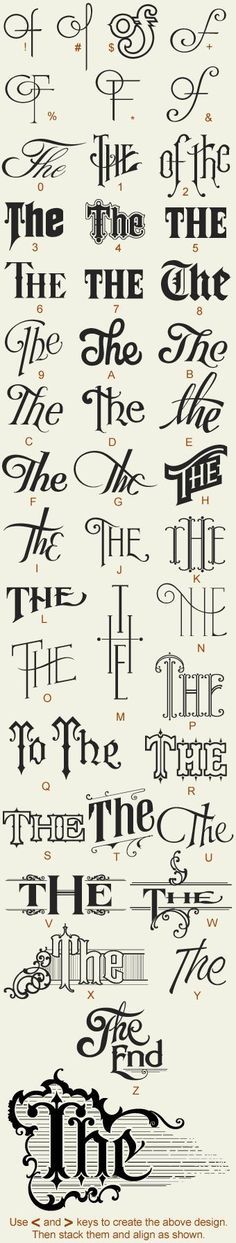 Creative Typography, Great, Fonts, Type, and Lettering image ideas & inspiration on Designspiration Calligraphy Letters, Typography Letters, Vintage Typography, Typography Quotes, Vintage Logos, Retro Logos, Schrift Design, Typographie Inspiration, Alphabet