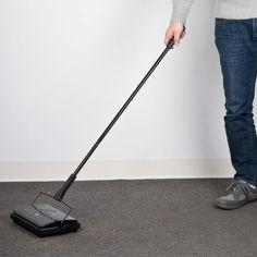 "9 1/2"" Triple Brush Floor Sweeper"
