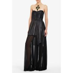 Maras Strapless Evening Gown ($139) ❤ liked on Polyvore