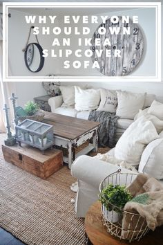 Ikea Slipcover Sofa Review   Honest Opinions 3 Years Later Part 77