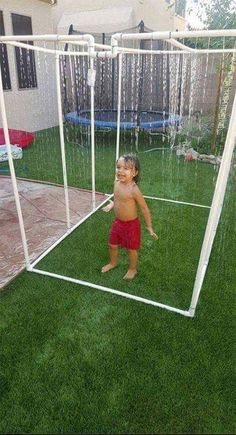 Today we are actually going to get to some really creative DIY PVC pipe projects knowing that apart from plumbing what else can you do with these PVC pipes? play areas for boys 30 Creative DIY PVC Pipe Projects Pvc Pipe Projects, Outdoor Projects, Wood Projects, Craft Projects, Pvc Pipe Crafts, Diy Summer Projects, Project Ideas, Diy Outdoor Toys, Kids Outdoor Play