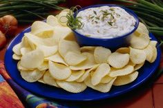 Potato chips and onion dip - Burke/Triolo Productions/Photolibrary/Getty Images
