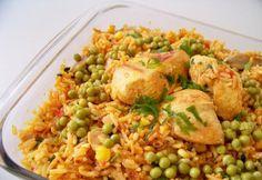 Aprenda a preparar uma galinhada fácil e saborosa, clique na imagem! #galinha #comida #receitas #galinhada #galinhacaipira #TudoReceitas