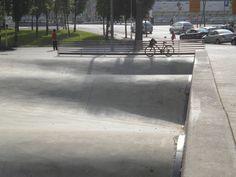 Waves spot Barcelona Skate Park, Barcelona, Sidewalk, Waves, Exterior, Adidas, Urban, Inspiration, Biblical Inspiration