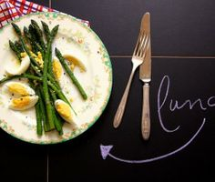 Simple Asparagus Lunch from Joy the Baker  #gladinspiredlunches