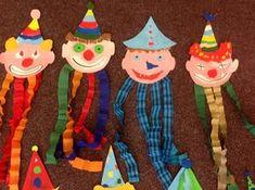 TwinSpaces - Veselá karnevalová výzdoba - Clown Crafts, Carnival Crafts, Annual Leave, Museum Of Fine Arts, Techno, Christmas Ornaments, Holiday Decor, Montessori, Education