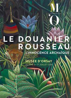 L'expo à ne pas manquer : Le Douanier Rousseau au musée d'Orsay du 22 mars au 17 juillet 2016. Faites le plein d'exotisme sur notre tableau Pinterest Urban Jungle https://fr.pinterest.com/bonjourbibiche/urban-jungle/ #inspiration #bonjourbibiche