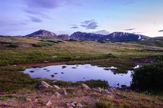 Twilight on Indepence Pass - This capture was taken during twilight at the top of Independence Pass in the Rocky Mountains near Aspen, Colorado. I so wanted to share this series of photos with you! I have never seen so much beauty in one area! I was so happy that I could get to this altitude with no problems even at my age of 79! Have a great day!