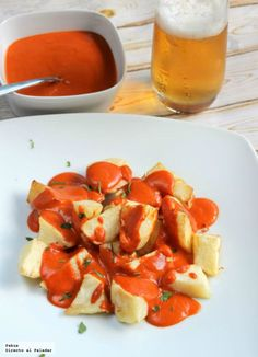 patatas bravas receta facil