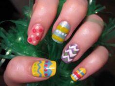 Easter Nails   www.youtube.com/cutepolish