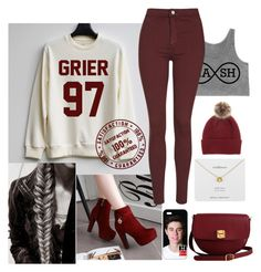 """""""Nash grier"""" by shatoe ❤ liked on Polyvore featuring Pastel Pairs, Topshop, Helen Moore, The Code and Estella Bartlett"""