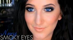 Makeup Tutorial | Navy Smoky Eye ft. IT Cosmetics Naturally Pretty Palette