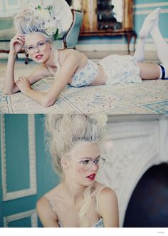 wildfox marie antoinette glasses fashion 02 Wildfox Launches Marie Antoinette Inspired Sunglasses Lookbook