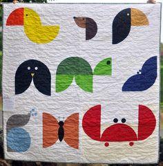 Oahu MQG's wee animals quilt
