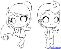 How to Draw Chibi Characters Step by Step | How to draw a chibi person step by step chibis draw chibi anime