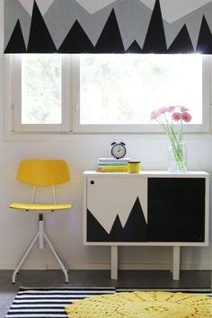 verdunkelungsrollo kinderzimmer bunte muster und ideen ikea pinterest verdunkelungsrollo. Black Bedroom Furniture Sets. Home Design Ideas
