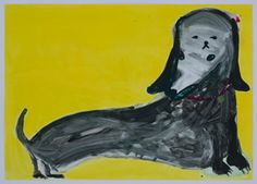 From Warren Editions, Georgina Gratrix, I Love Lumpi Colour monotype, 99 × 140 × cm To Trace, Contemporary African Art, Disney Characters, Fictional Characters, Artsy, Scene, Disney Princess, My Love, Fantasy Characters