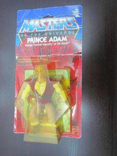Vtg. He-Man MOTU Prince Adam 12 BACK MASTERS OF THE UNIVERSE UNOPENED Red Wings