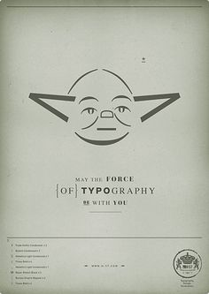 The Force of Typography 1