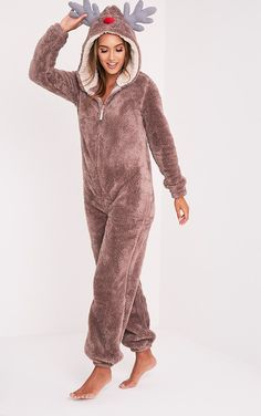 Reindeer OnesieYou'll be saying no to nights out when you see our range of onesies, cosy up in th...