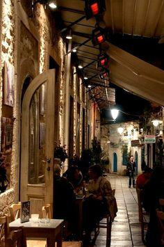 Night walk in the Old Town of Ioannina, Epirus, Greece (by Kostas Niarchos on Flickr)