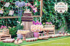 Coltul Dulce / Candy Bar / Dessert Table / Sweet Corner / Wedding www.coltuldulce.ro