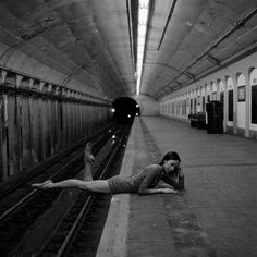 Urban Dancer Pictorials (UPDATE) - Dane Shitagi's 'Ballerina Project' Brings Grace to the Streets (GALLERY)