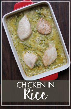 Chicken in Rice - Marguerites Cookbook