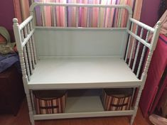 Changing Table to Bench
