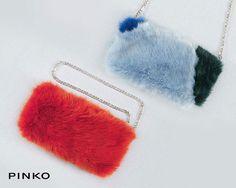 Un estrosa vena creativa ha influenzato l ideazione delle borse Pinko protagoniste  della collezione 8c70d6eca65