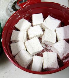 How to make Marshmallows :D