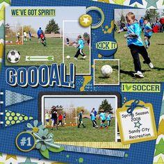 GingerScraps :: Kits :: Goooal! Page Kit by JB Studio