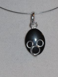 Wire Wrapped Mickey Pendant MADE to ORDER by 1ofAkinds on Etsy
