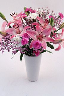 Cherry Blossom & Lily #Bouquet
