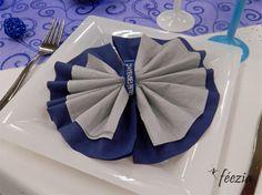 #serviette #napkinfold #decoration de table sur notre site: http://www.feezia.com/