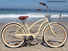 Beach Cruiser Love The Saddle Bags  Bikes  Pinterest