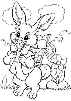 Coloriage Paques !