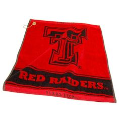 Texas Tech Red Raiders NCAA Woven Golf Towel