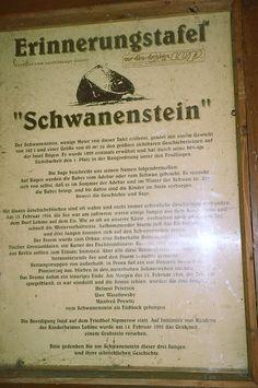 Erinnerungstafel Schwanenstein