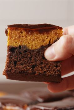 Pumpkin Pie Brownies  - Delish.com