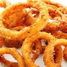 Rezept: Panierte Ofen-Zwiebel-Ringe